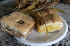 A classic coconut tart