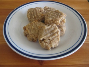 Tahini cookies...tasty, quick, and mineral-rich.  Totally justifiable.