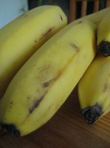 Who could resist a delicious banana?  Oooh, ooooh, I know the answer!!