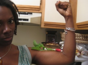Food = power.  Get empowered.  By the way, I'm not angry.  Just passionate.  Well, a little angry.